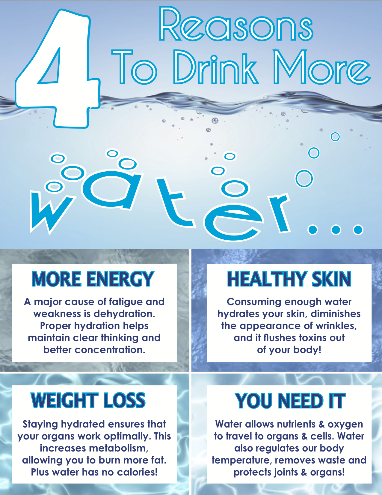 Reasons To Drink More Water Life Planning Today