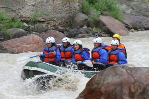 90 minute ride down Gallatin River